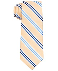 Lauren Ralph Lauren Big Boys Yellow Stripe Silk Tie