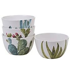 Cactus Verde 4-Pc. Ice Cream Bowl