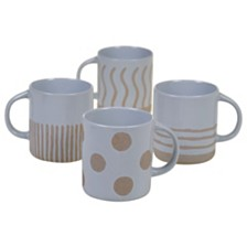 Certified International Artisan 4-Pc. Mug