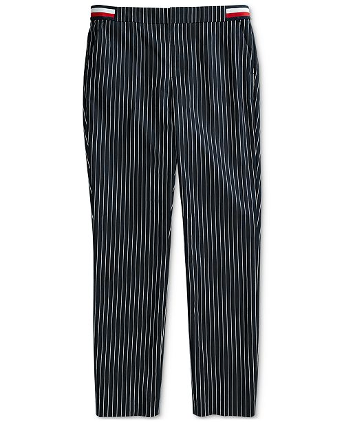 93a1558ddc ... Magnetic Fly; Tommy Hilfiger Women's Riley Global Rib Pants with  Magnetic ...