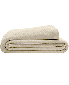 Elite Home Organic Cotton Full/Queen Blanket