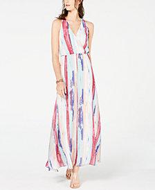 I.N.C. Petite Rainbow Maxi Dress, Created for Macy's