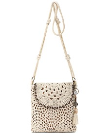 The Sak Sayulita Crochet Flap Crossbody