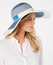 Calvin Klein Colorblock Stripe Sunhat