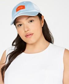 Calvin Klein Satin Baseball Hat