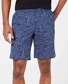 "DKNY Men's Floral Chino 9"" Shorts"