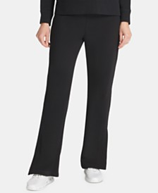 DKNY Sport Logo Slit Track Pants, Created for Macy's