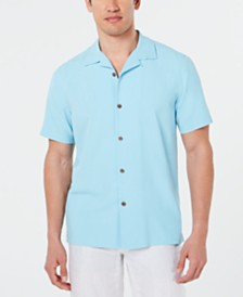 Tommy Bahama Men's Live The Island Life Silk Shirt