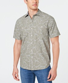 Tommy Bahama Men's Raffia Fronds Shirt