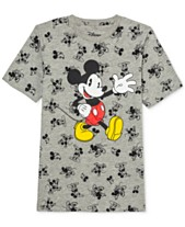526519068 Disney Big Boys Howdy Mickey Mouse T-Shirt