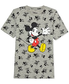 Disney Big Boys Howdy Mickey Mouse T-Shirt