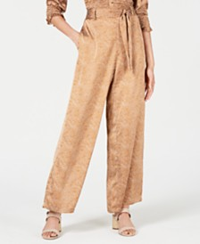 Lucy Paris Nadia Printed Flowy Pants