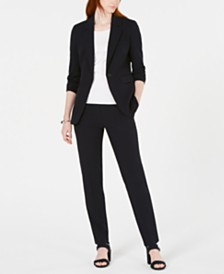 Bar III Bi-Stretch Jacket, Sweater & Straight-Leg Pants, Created for Macy's