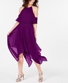 Thalia Sodi Chain-Neck Off-The-Shoulder Maxi Dress, Created for Macy's