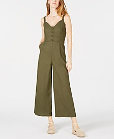Sleeveless Corset Jumpsuit