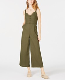 Moon River Sleeveless Corset Jumpsuit