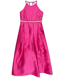 Speechless Big Girls Embellished Waist Special Occasion Dress