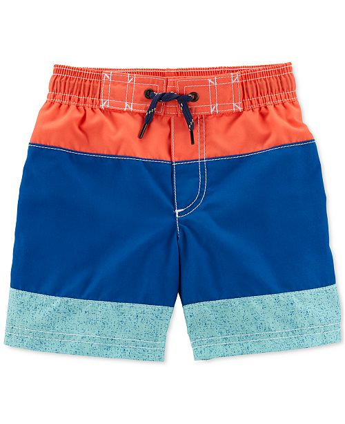 Carter's Toddler Boys Colorblocked Swim Suit