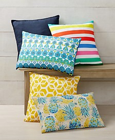 CLOSEOUT! Small World Home Outdoor Decorative Pillow Collection