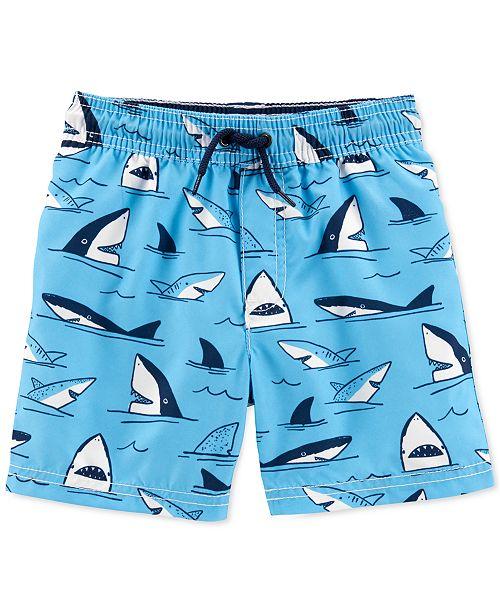 Carter's Toddler Boys Shark-Print Swimsuit