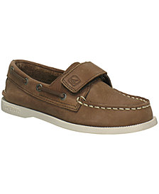 Sperry Kids Shoes,  A/O H&L Boat Shoes, Little Boys