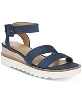a7572aca16 Franco Sarto Connolly Wedge Sandals