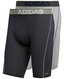 adidas Men's 2-Pk. Sport Performance ClimaCool® Midway Briefs