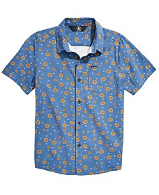 Volcom Big Boys Everett Classic-Fit Printed Oxford Shirt