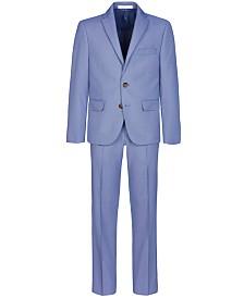 Lauren Ralph Lauren Big Boys Stretch Blue Birdseye Suit Separates