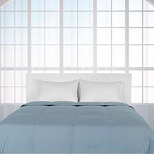 Color Down Alternative King Comforter, 100% Cotton Cover