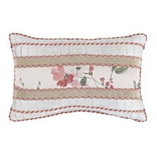 "Croscill Blyth 18"" x 12"" Boudoir Decorative Pillow"