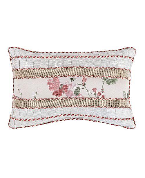 "Croscill Blyth 18"" x 12"" Boudoir Decorative Pillow"