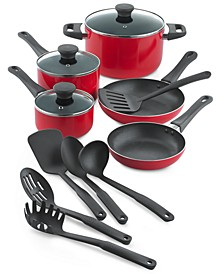 14-Pc. Aluminum Cookware Set, Created for Macy's