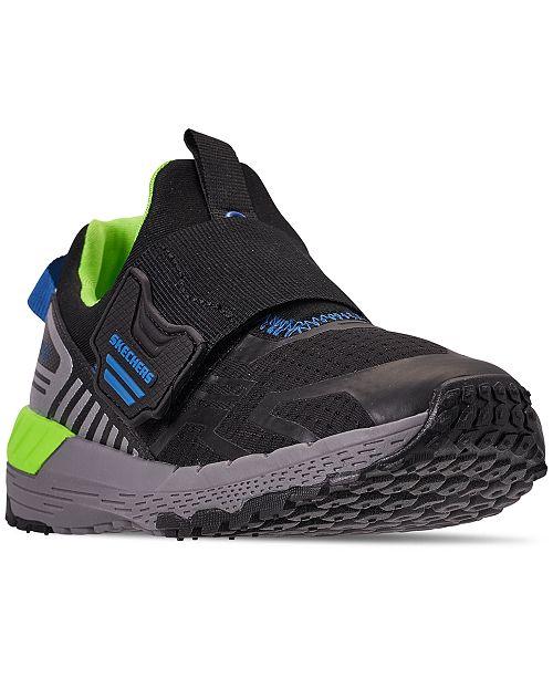 8cdc94fb535a ... Skechers Little Boys  Hyperjolt 2.0 - Nitroblast Training Sneakers from  Finish ...
