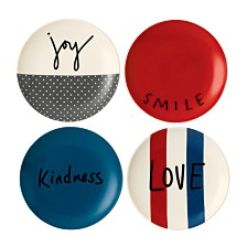 Crafted by Royal Doulton Joy Plate, Set of 4