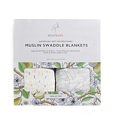 Two-Pack Swaddle Blankets