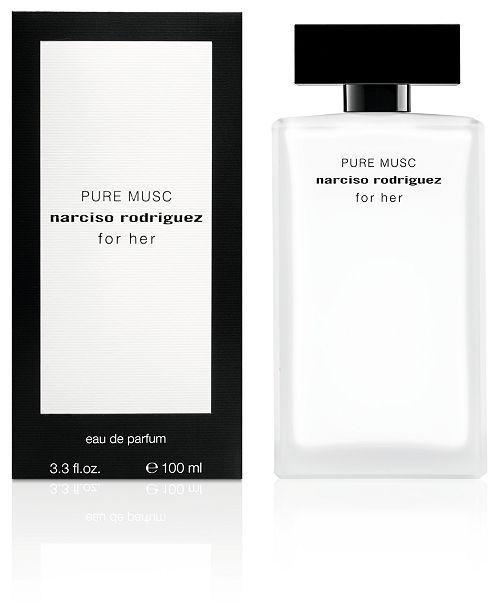 Narciso Rodriguez For Her Pure Musc Eau de Parfum, 3.3-oz.