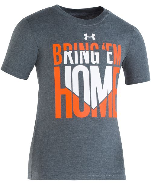 Under Armour Toddler Boys Bring 'Em Home Graphic T-Shirt
