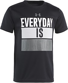 Under Armour Little Boys Everyday Game Day Graphic T-Shirt