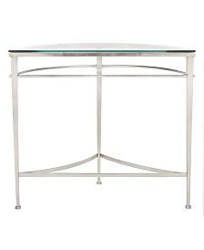 Baur Antique Glass Console Table, Quick Ship