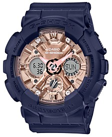 Women's Analog-Digital Navy Resin Strap Watch 45.9mm