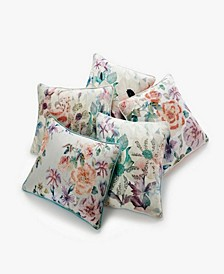 Floral Decorative Pillow and Throw Collection