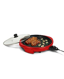 "Elite Gourmet 14"" Electric Indoor Grill"