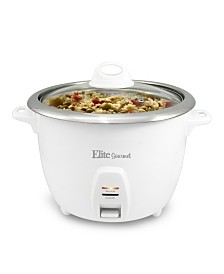 Elite Platinum 20 Cup Rice Cooker with Stainless Steel Cooking Pot