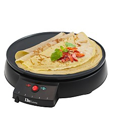 "Elite Cuisine 12"" Non - stick Crepe Maker Griddle"