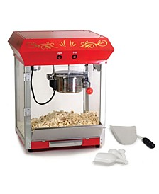 Elite Deluxe 4 Ounce Kettle Tabletop Popcorn Maker