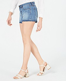 Zina Frayed Denim Shorts