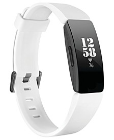 Inspire HR White Strap Activity Tracker 16.4mm