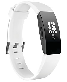 Fitbit Inspire HR White Strap Activity Tracker 16.4mm