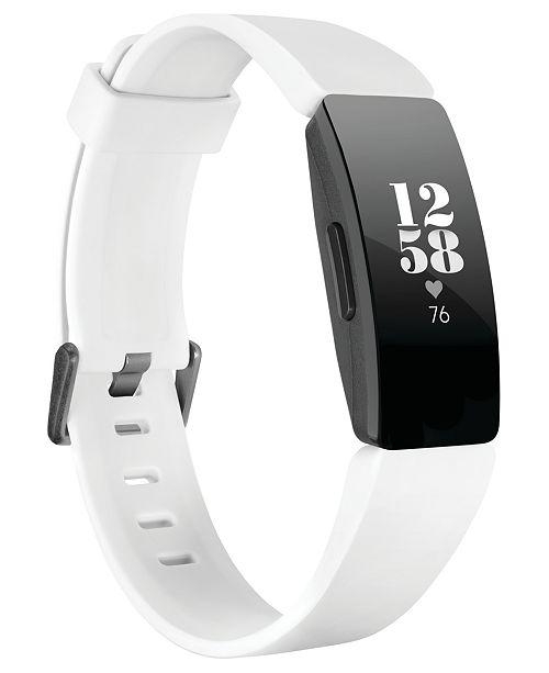 Fitbit Inspire HR White Strap Activity Tracker 16.4mm